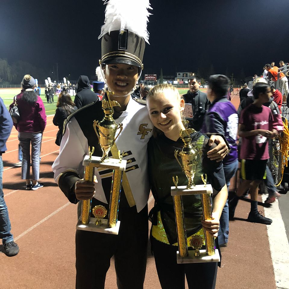 Lancer Band hits high notes with first place win