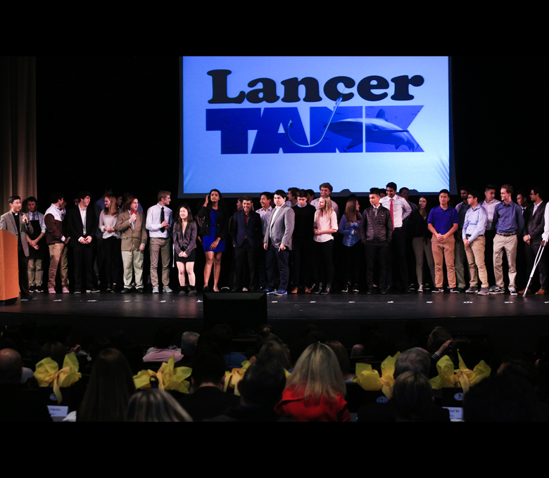 Students pitch strong business ideas at inaugural Lancer Tank
