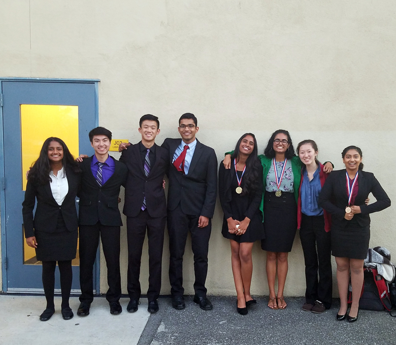 Lancers are top speakers at speech tournament