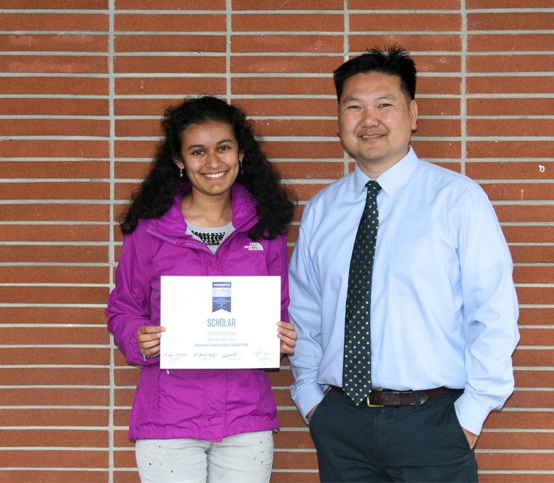 Ananya Karthik '19 among top 300 in science competition