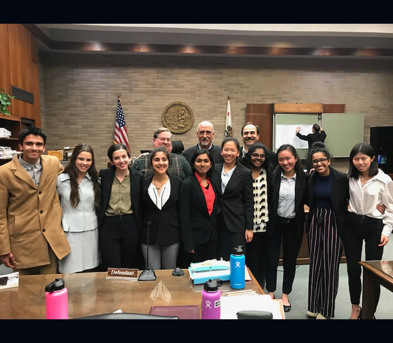 Lancer mock trial team celebrates dominant wins