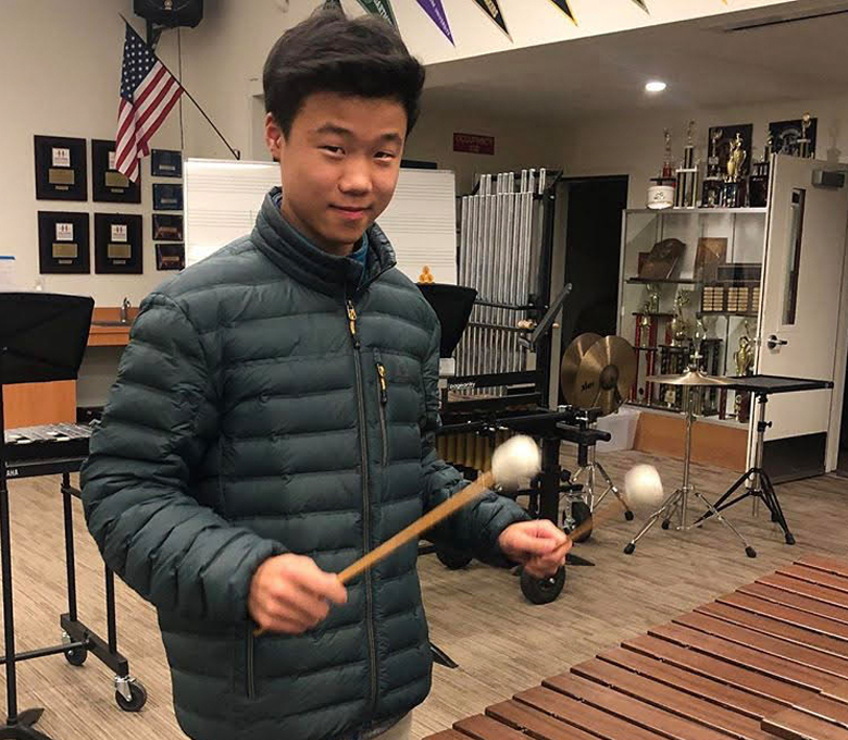 Freshman musician plays at All-State Wind Symphony