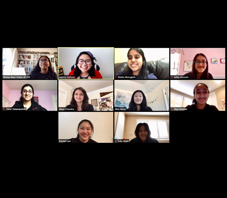 Girls Who Code Hosts Virtual Hackathon